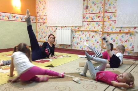 Ритмика в детском клубе Божья коровка Моссква Долгоруковская 29