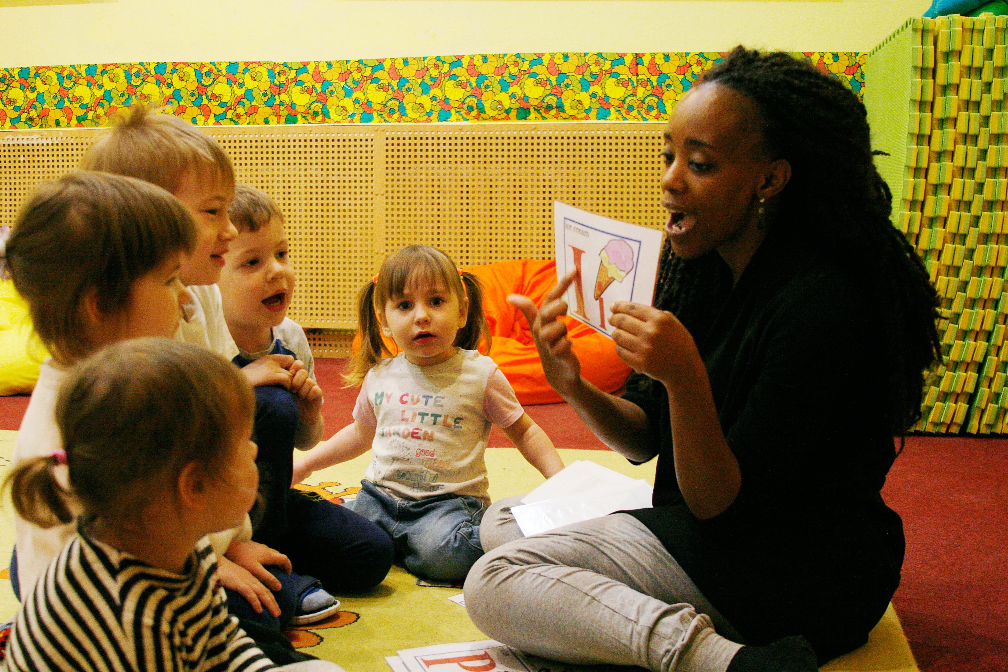 Частный детский сад Москва