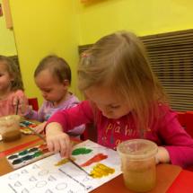 Учим цвета Детский клуб Божья коровка